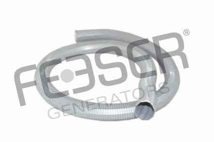 Abgasschlauch für Stromerzeuger 40 mm