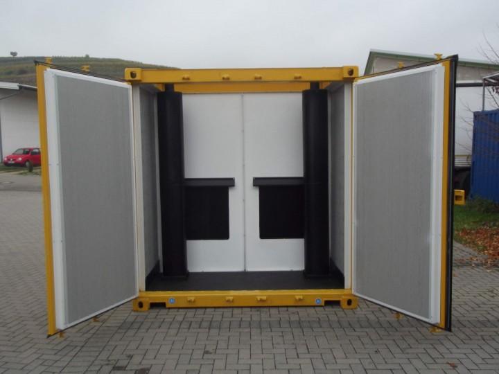 Aufpreis 65 Db A 30 40 Fuss Container Schallschutzcontainer