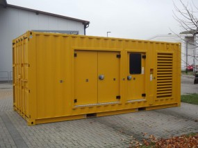 Silence Container 20 Fuß HC / 800 kVA