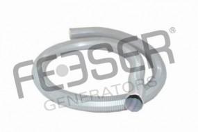 Abgasschlauch für Stromerzeuger 60 mm