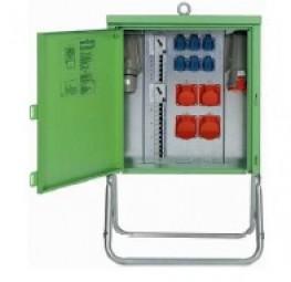Endverteilerschrank 44 kVA / 63 A Zähler