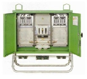 Gruppenverteilerschrank 173 kVA / 250 A